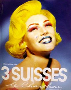 Thierry Mugler for 3 Suisses, 2000.