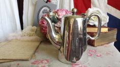 Small Vintage Sheffield Plated Coffee Pot