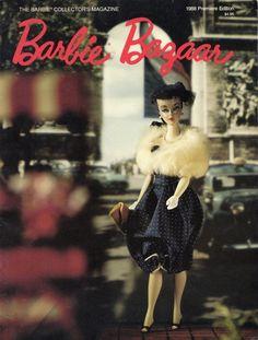 1988 #1 FIRST ISSUE Barbie Bazaar vintage doll magazine