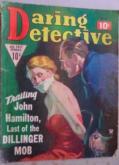 Daring Detective - October, 1935