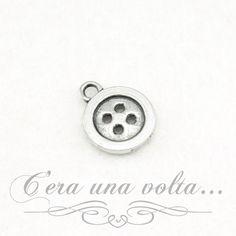 Merceriaceraunavolta.it | Charms bottone + spoletta