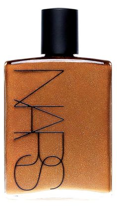 Apply this NARS body glow for a glistening and sexy just-got-back-from-vacation sheen.