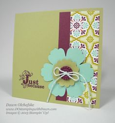 stampin up, dostamping...cute!