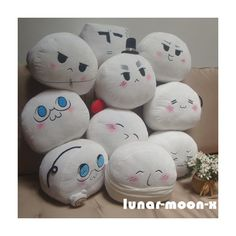 """10"""" x 9"""" Axis Powers Hetalia Plush Country Character Mochi Cosplay... ($24) ❤ liked on Polyvore featuring plushies"""