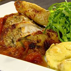 Recepten - Gebraden kip met honing en amandel