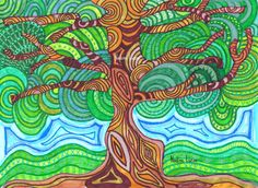 Psychadelic Tree | by n_lucas