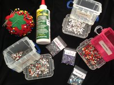 Dancing is more fun stoned. Here's how to glue rhinestones on practically…