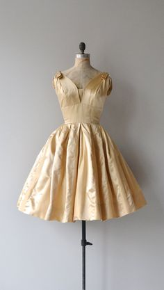 Dear Golden dress vintage 1950s party dress 50s by DearGolden