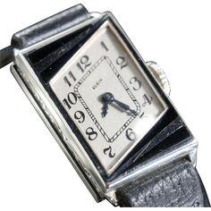 1929 Elgin Madame Premet Ladies Art Deco PARISIENNE Watch