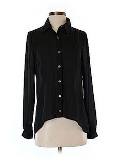 Forever 21 Women Long Sleeve Blouse Size S
