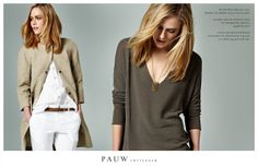 Pauw Collection Spring Summer 2013 #ss13 #pauw #fashion #casual #linen #fineknit