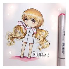 Sweet Like Candy  Ariana Grande Chibi Version! online now on my channel! Enjoy! #debbyarts #arianagrande #chibi #sweetlikecandy #debbymas