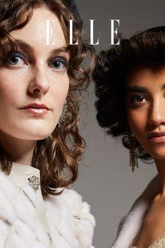 Wie stylt man mittellange Haare ohne großen Aufwand? Wir haben 5 Frisuren-Trends für mittellange Haare im Herbst 2021 zusammengestellt – auf Elle.de! #beauty #haut #hautpflege #skincare