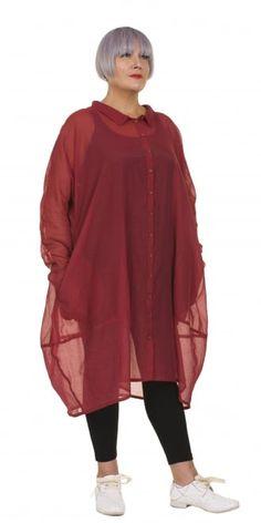 Rundholz Black Label Strawberry Shirt-Dress