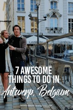 "Here are 7 awesome things to do in Antwerp, Belgium. ""Antwerp is the city & the rest of the country is the parking lot"" Travel To Do, Europe Travel Tips, European Travel, Travel Guides, Travel Destinations, Bruges, Oh The Places You'll Go, Places To Visit, Amsterdam"