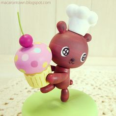 cooking bear by tomoto :)