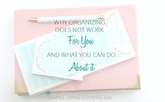 You've tried organizing your home but you can never stick to it. If organizing does not work for you, read here to find out why and what you can do about it.