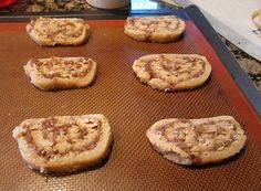 My mother made this date pinwheel cookies every christmas season when i was young. I have always loved these cookies and i still do.