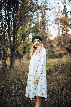 PIPER & SCOOT: THE AMBLE DRESS IN HEATHER GREY// DRESSES// WOMENS CLOTHING// FALL OUTFITS