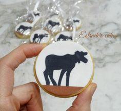 Estrade's cakes: galletas decoradas con papel comestible.