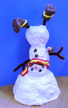 The Art Annex: More snowman themed winter crafts