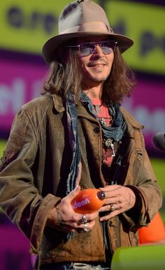 Johnny Depp - 2013 KCA's