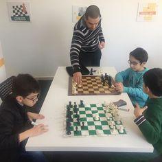 #chess #kids #strategy #decisionmaking #learnthroughplay #braindevelopment #braingames #backtotheroots #beirutkids #kidsactivities #jeita #craniumedu