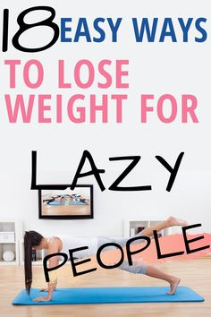 weight loss no diet Quick and Easy ways to lose weight for lazy people without much diet and exercise. Weight loss can be hard but you can lose some weight without trying. Ways To Loose Weight, Easy Weight Loss Tips, Weight Loss Workout Plan, Losing Weight Tips, Fast Weight Loss, Weight Loss Program, How To Lose Weight Fast, Motivation For Weight Loss, Diet Program