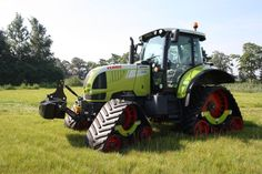 Tracteur agricole Claas Arion 640 chenilles caoutchouc Zuidberg Tracks