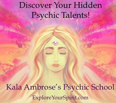 What Are You, A Psychic?  - Explore Your Spirit with Kala