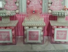 """Diamonds and Pearls Baby Shower Theme 