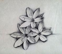 Kaffir lilies, dot art by rougealizarine on DeviantArt