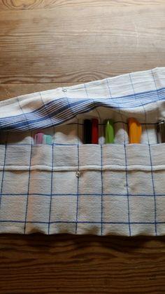 Stiftrolle aus einem Handtuch