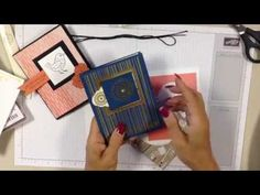 (1) How to Add wow to your handmade card with a simple fancy fold - YouTube