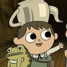 Monster Hunt, Over The Garden Wall, Walled Garden, Cute Frogs, Frog And Toad, Movies Showing, Cute Wallpapers, Pikachu, Doodles