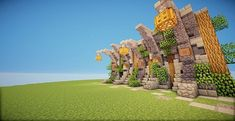 Simply A Wall Minecraft Map Minecraft Wall Designs, Minecraft Interior Design, Minecraft Decorations, Minecraft Creations, Minecraft City Buildings, Minecraft Architecture, Minecraft Structures, How To Play Minecraft, Cool Minecraft