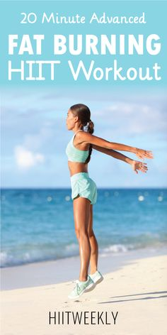 The best 20 minute advanced fat burning HIIT workout you'll do this year. Ideal for weight loss. Weight Loss HIIT Workout For Women. Weight Loss Meals, Weight Loss Challenge, Losing Weight Tips, How To Lose Weight Fast, Weight Gain, Lost Weight, Water Weight, Reduce Weight, Weight Lifting