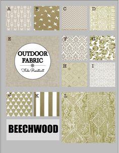 OUTDOOR Cushions- Outdoor Pillows- Outdoor Fabric- Box Cushions- Deck Cushions- Patio Cushions- Chair Cushions- BEECHWOOD Glider Rocker Cushions, Outdoor Chair Cushions, Outdoor Fabric, Fabric Boxes, Custom Cushions, Box Cushion, Decks, Swatch, Pillows