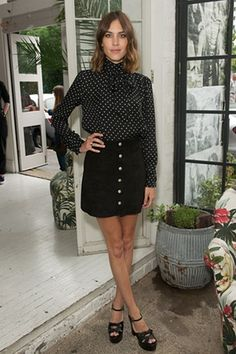 Alexa Chung Private Dinner hosted by Alexa Chung for AG Jeans.