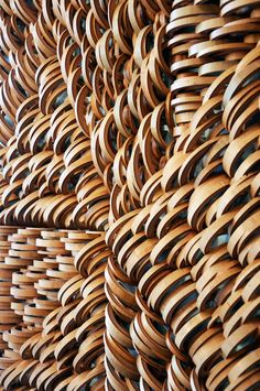 Bamboo Sculptures by Anne Crumpacker