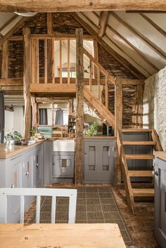 A Barn-Style Holiday Cottage Oozing With Rustic Charm This barn conversion holiday-let, dates back to the Century (is Grade-II listed) and has been lovingly restored to retain its original features