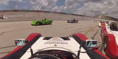 After 100-mph wreck, racer passes 24 cars for the win +http://brml.co/1NWyDNm