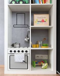 mommo design: IKEA HACKS FOR KIDS - Kallax kitchen