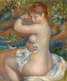 Pierre-Auguste Renoir - Baigneuse
