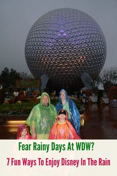 Afraid rain will ruin your Disney vacation? No fear Disney is fun in the rain. These 7 tips will help your family have fun in the rain on your frugal Disney vacation. via @simplehack