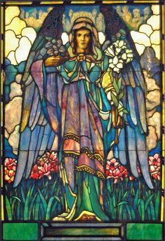 Smith Museum of Stained Glass Angel 1 by Atelier Teee (on hiatus), via Flickr