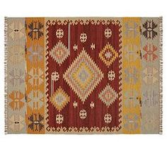 Red Rugs, Orange Rugs, Yellow Rugs & Red Area Rugs | Pottery Barn