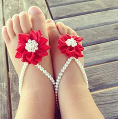 Baby barefoot sandals, newborn shoes, baby shoes, baby girl, infant, mommy gift, Rex flower baby, baby jewelry on Etsy, $21.99