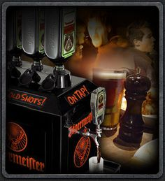 Jägermeister Tap Machine, lovely! ;-) Whiskey Bottle, Outdoor Living, Drinks, Eat, House, Drinking, Home, Haus, Outdoor Life