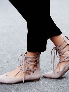 13 Ballet Flats That Are Anything But Basic via @WhoWhatWear .. LOVE THESE!!